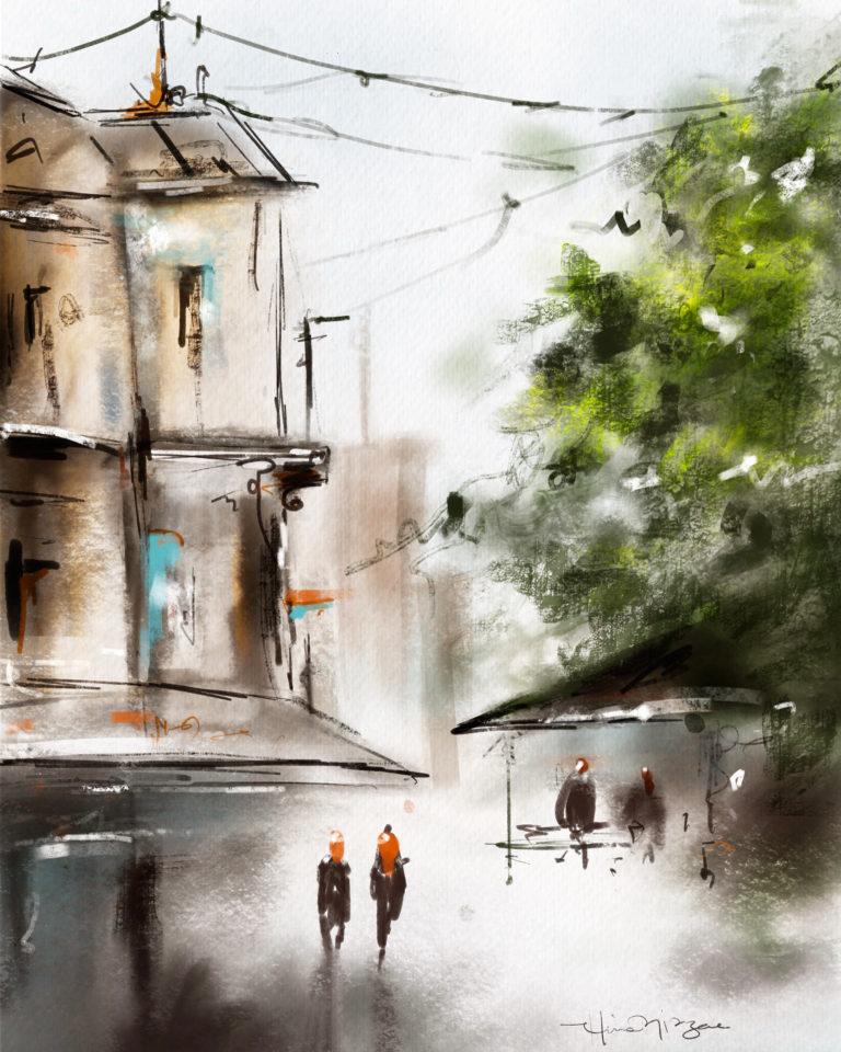 Digital  - Inspired by Ilya Ibryaev